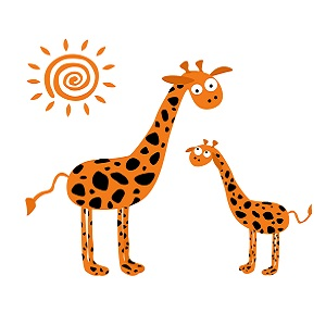 Petite girafe devient Erica Barnier